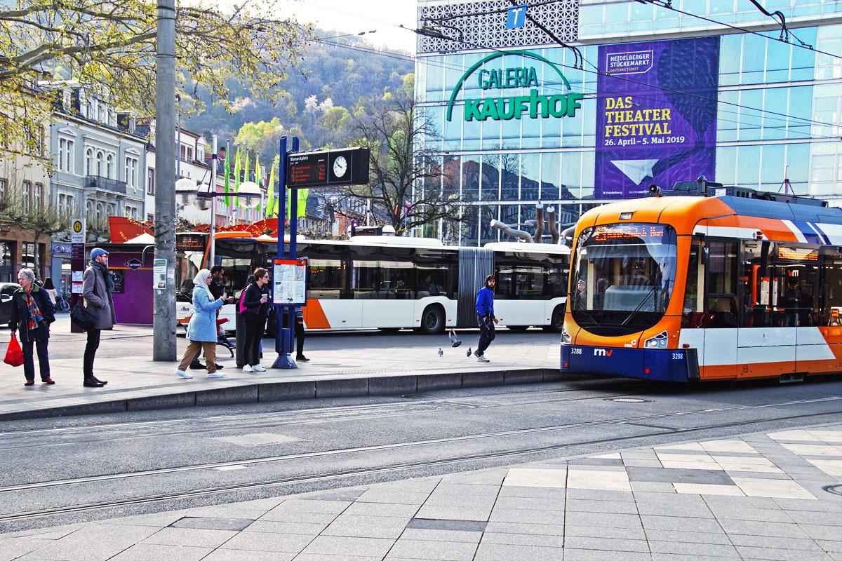 Mobilität in Heidelberg