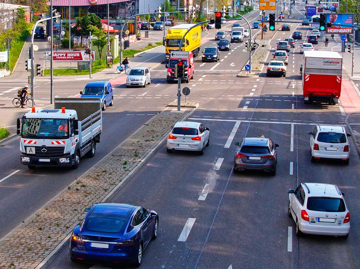 Verkehrszählungen in Heidelberg